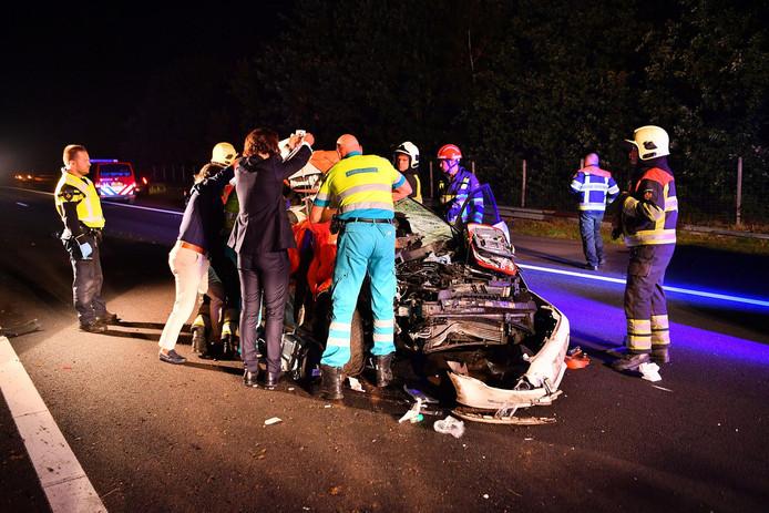 Ongeval A67 Eersel