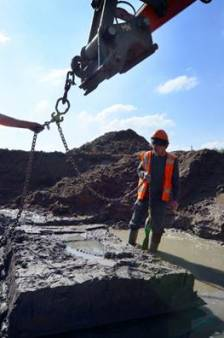 Voorbereiding verbreding A27 legt Romeinse restanten bloot
