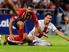Atlético Madrid eenvoudig langs Huesca