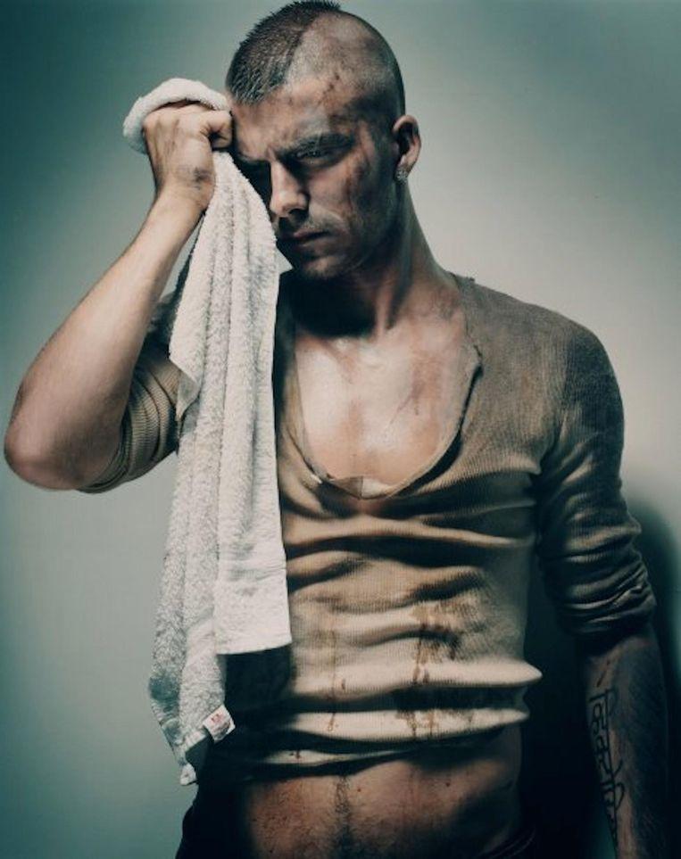 Ook David Beckham stond voor Peters' lens Beeld Vincent Peters