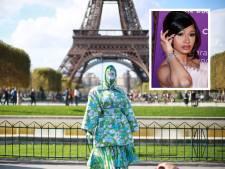 Cardi B incognito ou presque à la Fashion Week de Paris