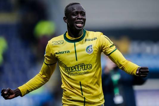 Amadou Ciss staat na zijn twee goals tegen Feyenoord in het Elftal van de Week.