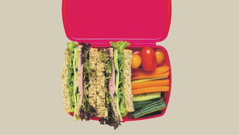 Een gezonde lunchtrommel Beeld Getty