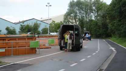 "Recyclageparken Ibogem maken systeem op afspraak permanent: ""Minder files, minder stress en meer afval per beurt"""