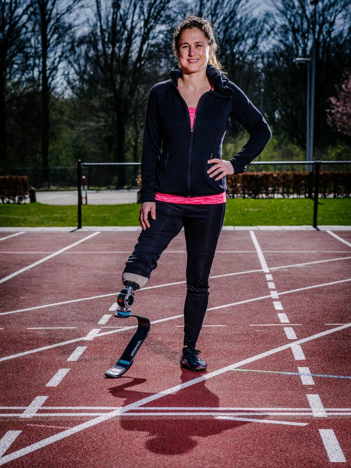 Atlete Annette Roozen.