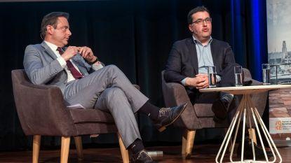 """De Wever en Van Besien eerste keer in debat: """"Mobiliteit? Ik geloof niet in het dwangmodel van Groen"""""""
