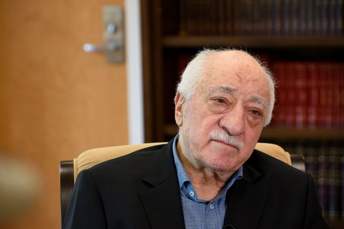 De Turkse Fethullah Gülen woont in de VS.