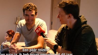 VIDEO: 'HLN-reporter' Oliver Naesen interviewt boezemvriend Greg (en daar komt humor aan te pas)