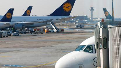 Brand breekt uit op tarmac van luchthaven Frankfurt: tien mensen lichtgewond