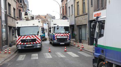 Ongeval en gaslek veroorzaken verkeersinfarct: Asse-centrum slibt vast