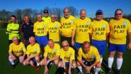 Vijfenvijftigplussers Verbroedering Beersel-Drogenbos beginnen aan hun tiende wandelvoetbalseizoen