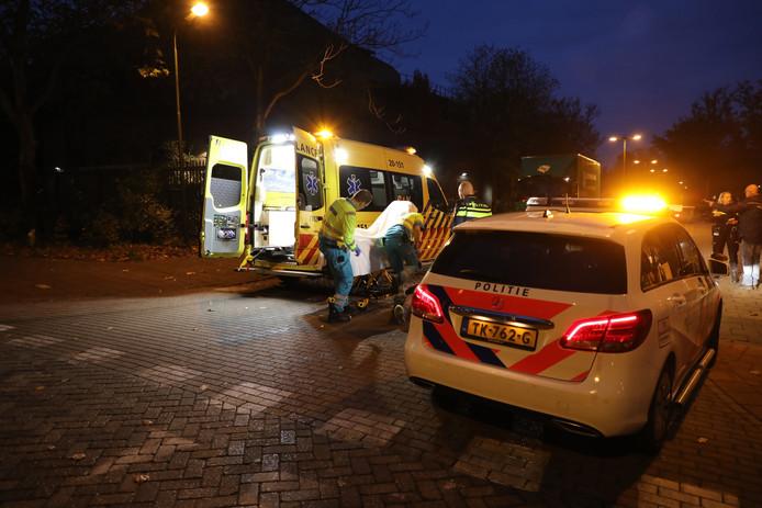 Ongeval tussen scooter en auto bij Efteling in Kaatsheuvel.