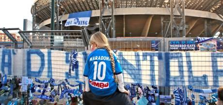 Diego Maradona, Argentijn van geboorte, 'maar als je naar hem keek zag je een Napolitaan'