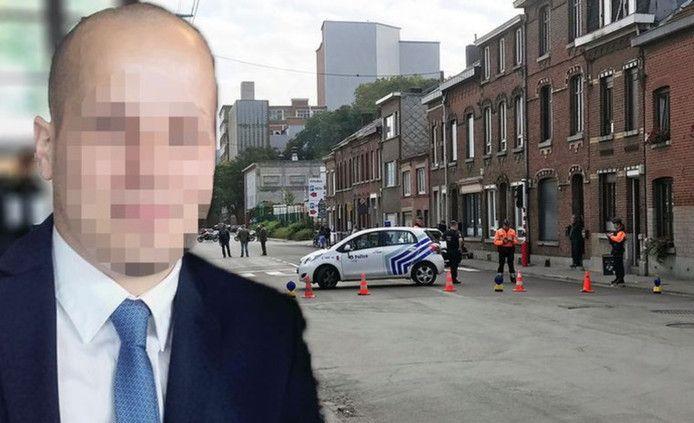 Maxime Pans, le policier touché par balles.
