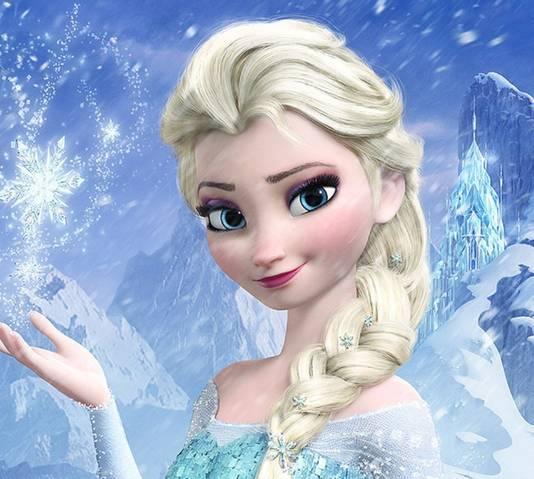 Elsa uit 'Frozen' inspireerde heel wat toekomstige ouders.