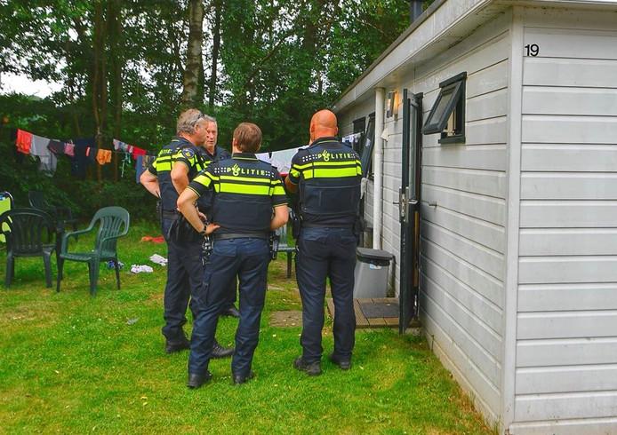 Politie schoot toe toen juni vorig jaar een steekpartij werd gemeld op een Valkenswaardse camping. Volgens het OM was het een poging doodslag door een Poolse vrouw.