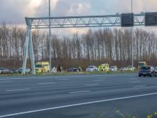 Gewonden bij ongeluk op A2 bij Abcoude