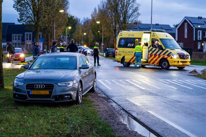 Ongeluk op de Macharenseweg in Oss.