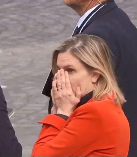 Le moment de panique d'une ministre française lors du défilé du 14 Juillet