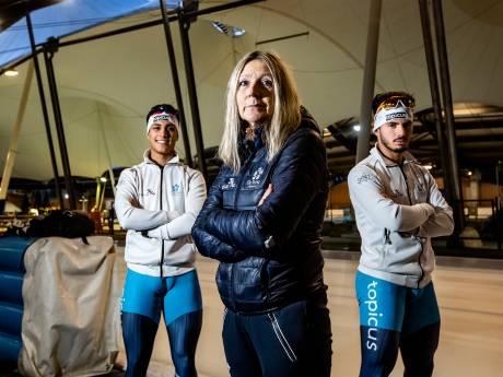 Elvira Salet - schaatscoach Oost - heeft na borstkanker lak aan kritiek