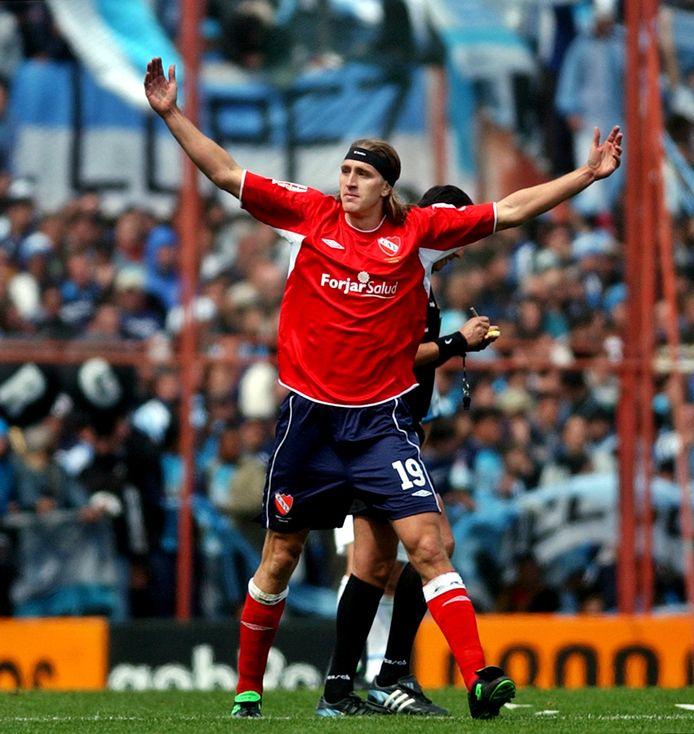 Frutos, hier in het shirt van Independiente.