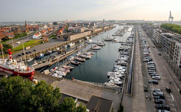Het ongeval gebeurde in de jachthaven van Zeebrugge.