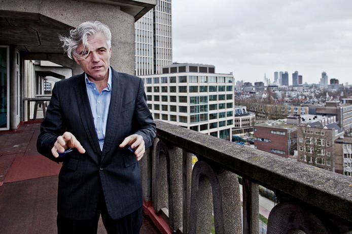 Olof van de Wal, directeur van Stichting Kunstaccommodatie Rotterdam (SKAR).