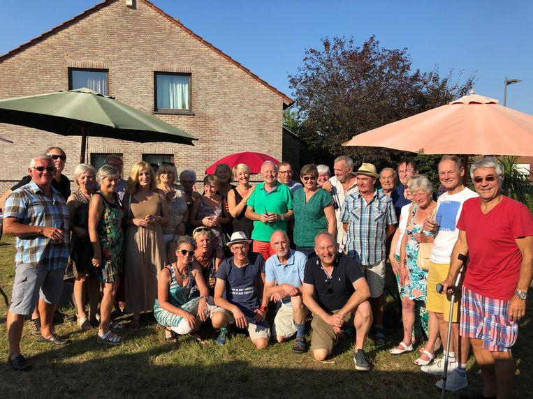 De receptie van de bewoners van onder meer de Heirbaan in Machelen was een groot succes.