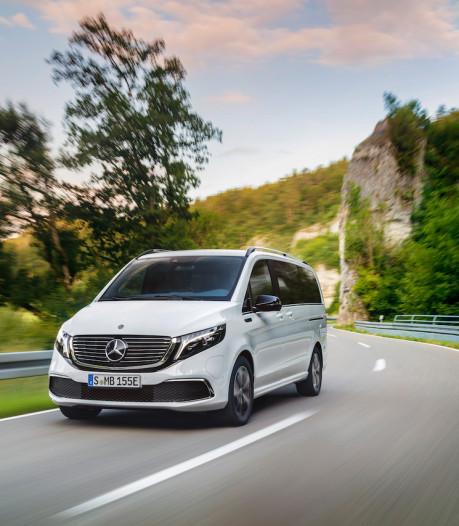 Mercedes EQV: elektrische MPV met maximaal acht zitplaatsen