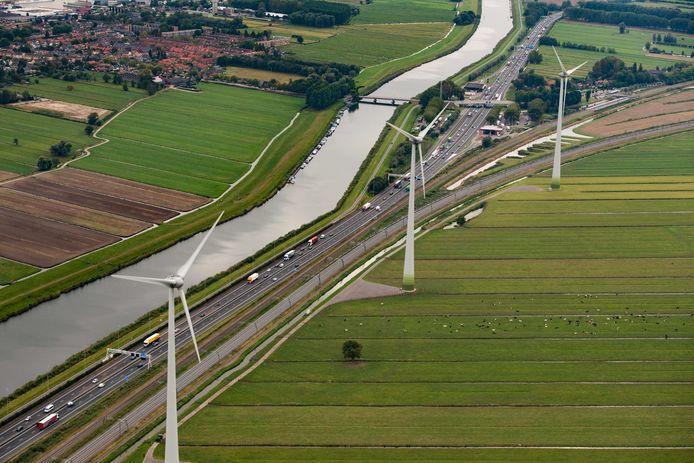 Bij de buren in Hardinxveld staan al windmolens. De gemeenteraad van Sliedrecht houdt er rekening mee dat de bouw daarvan ook in Baggerdorp onvermijdelijk kan zijn.