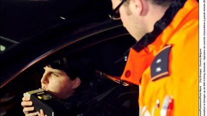 Boete en rijverbod in het weekend voor dronken bestuurder