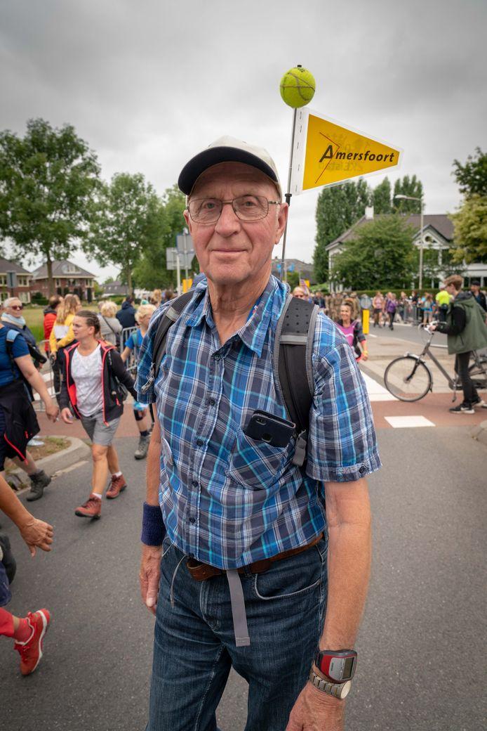 Voor het eerst loopt De Boer elke dag een afstand van 30 kilometer.