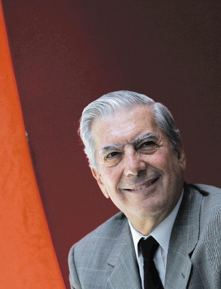 Vargas Llosa had ook politieke ambities. In 1990 stelde hij zich kandidaat voor de verkiezingen in Peru. (FOTO AFP ) Beeld AFP