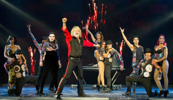 Hans Klok met House of Horror.