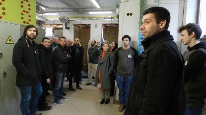 Docenten Odisee Hogeschool ontdekken onderwijsvernieuwingen GO! Atheneum Geraardsbergen