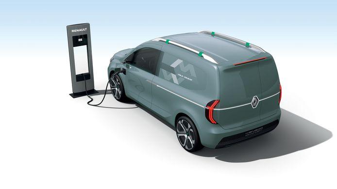 De elektrische Kangoo heeft Renault eerder al aangekondigd door middel van deze concept car