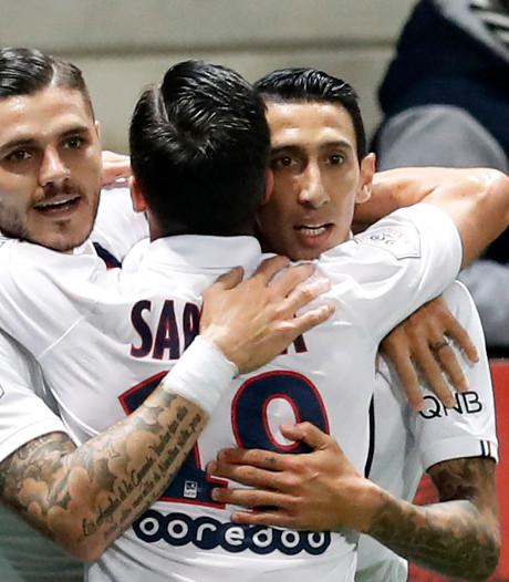 Magnifieke treffer Di María hoogtepunt bij zege PSG op negental OGC Nice