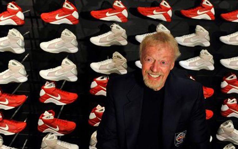 Phil Knight, oprichter van sportartikelenbedrijf Nike.