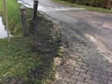 Weer brandstichting in Achterberg, daders zochten plek buiten zicht van onlangs opgehangen camera's