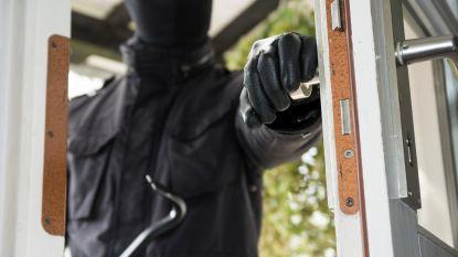 Inbreker betrapt in Houtem, zoektocht naar dader voorlopig zonder resultaat