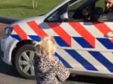 Meisje (3) doet fietsje doet wedstrijdje met politie