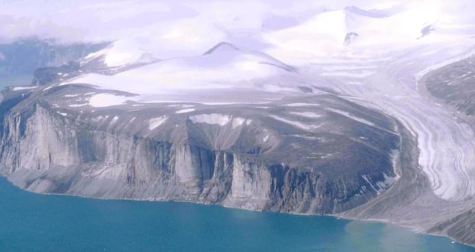L'île de Baffin, au Canada