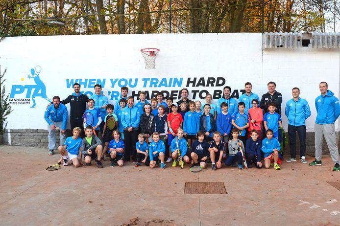 Bij Tennis Panorama beschikken ze naast een uitgebreid trainersteam ook over een talentvolle lichting jeugdspelers.
