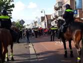 Vier relschoppers aangehouden na verstoren Pegida-demonstratie in Eindhoven