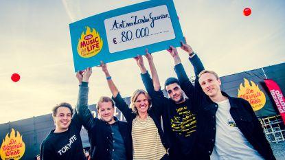 GOOSE brengt 80.000 euro op voor 'Music For Life'