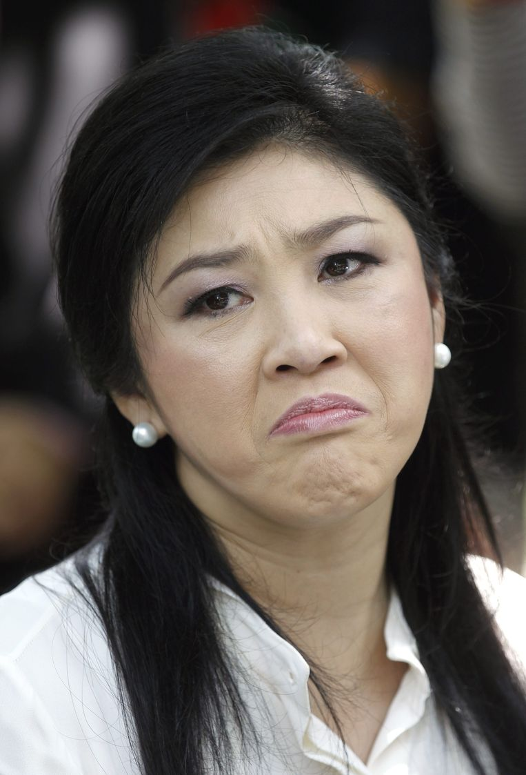 De afgezette premier Yingluck Shinawatra.