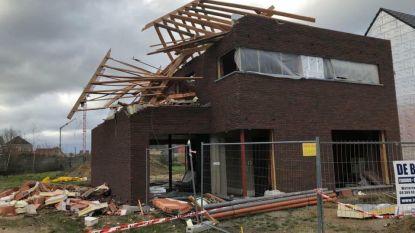 Meer dan 80 schadegevallen na storm en twee branden in politiezone Wetteren