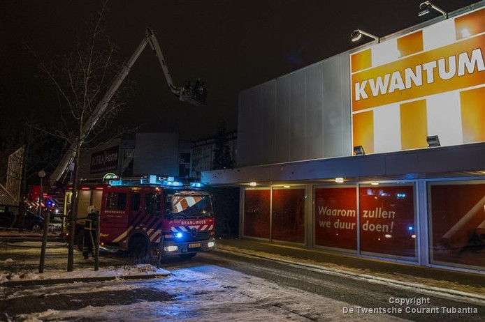 kwantum enschede in brand | overig | tubantia.nl