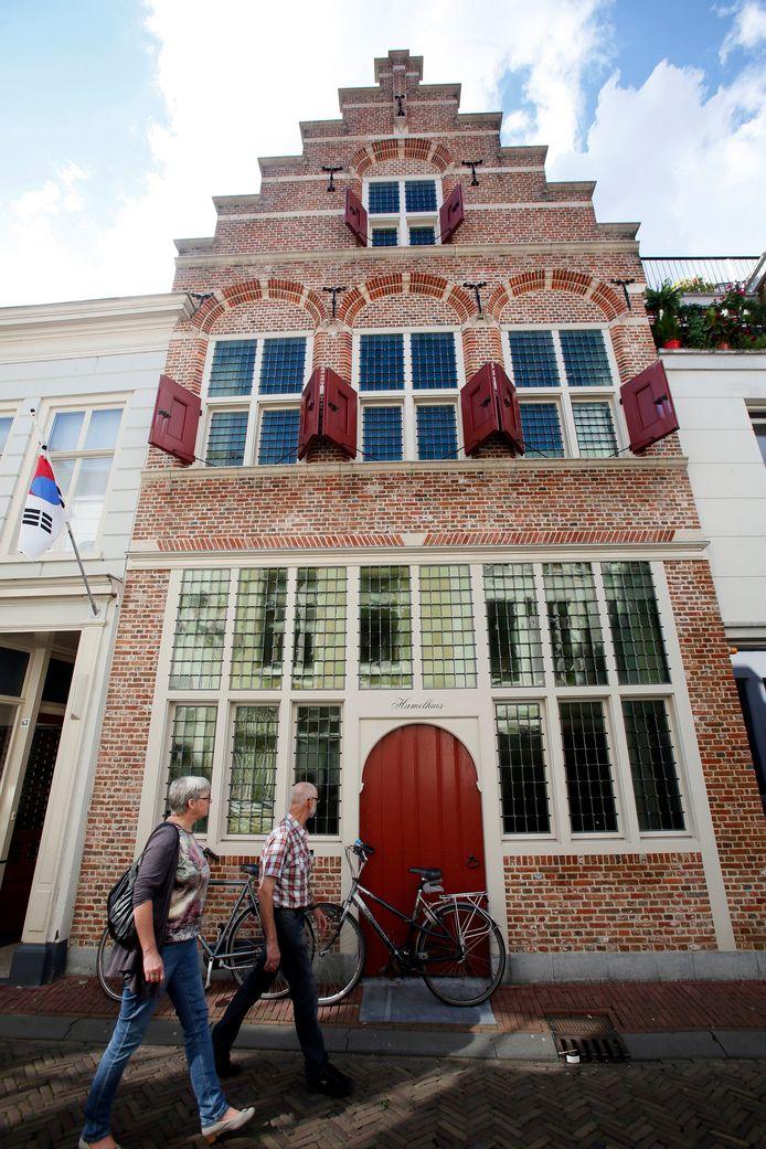 Het Hendrick Hamel Museum aan de Kortendijk in Gorinchem.