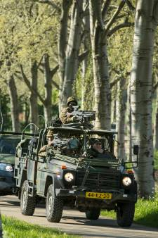 Sint Anthonis week voor carnaval militair oefenterrein